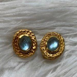 Julie Vos Paradise Clip Earrings